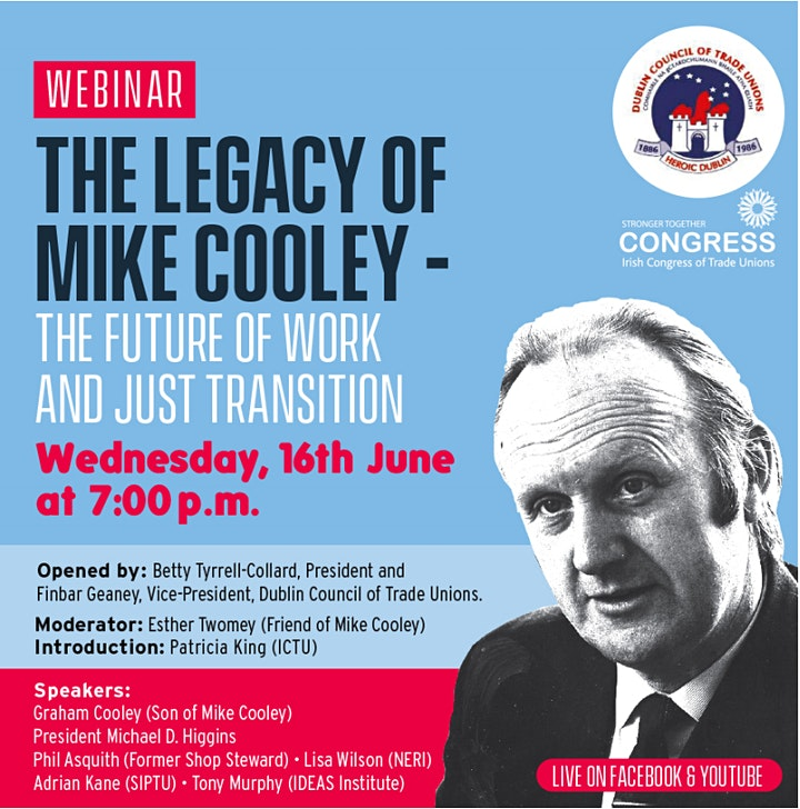 The Legacy of Mike Cooley – The Future of Work and Just Transition image