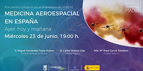 MEDICINA AEROESPACIAL EN ESPAÑA. AYER, HOY Y MAÑANA entradas