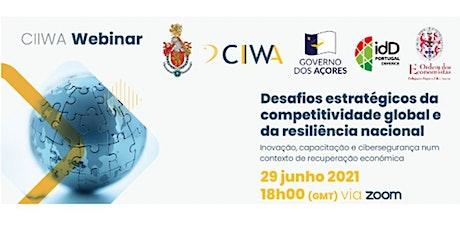 Webinar Competição Global e Resiliência Nacional ingressos