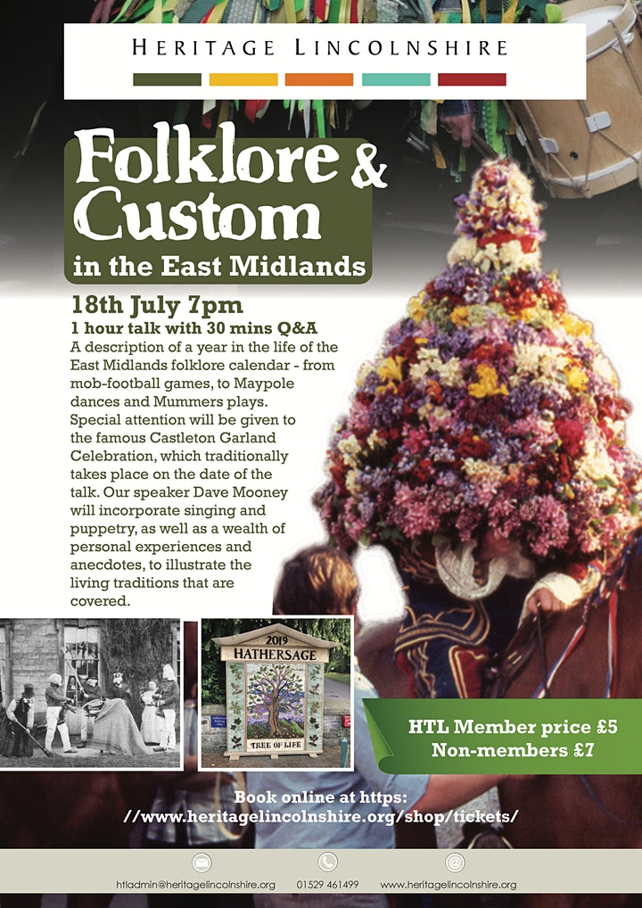 TALK Folklore and Custom in the East Midlands image