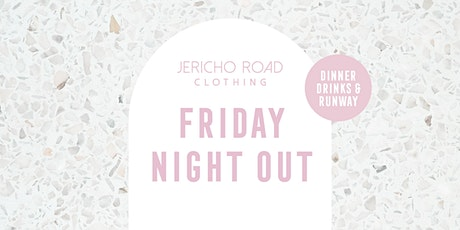 Friday Night Out with JRC tickets