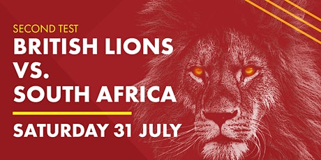 SECOND TEST: Lions v South Africa tickets
