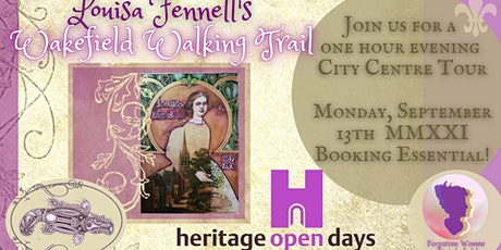 Louisa Fennell's Heritage Open Days Walking Tour tickets