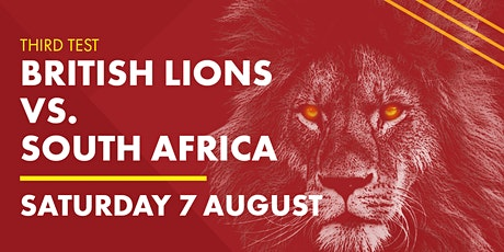 THIRD TEST: Lions v South Africa tickets
