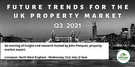 UK Property Market Update- Liverpool,North West England tickets