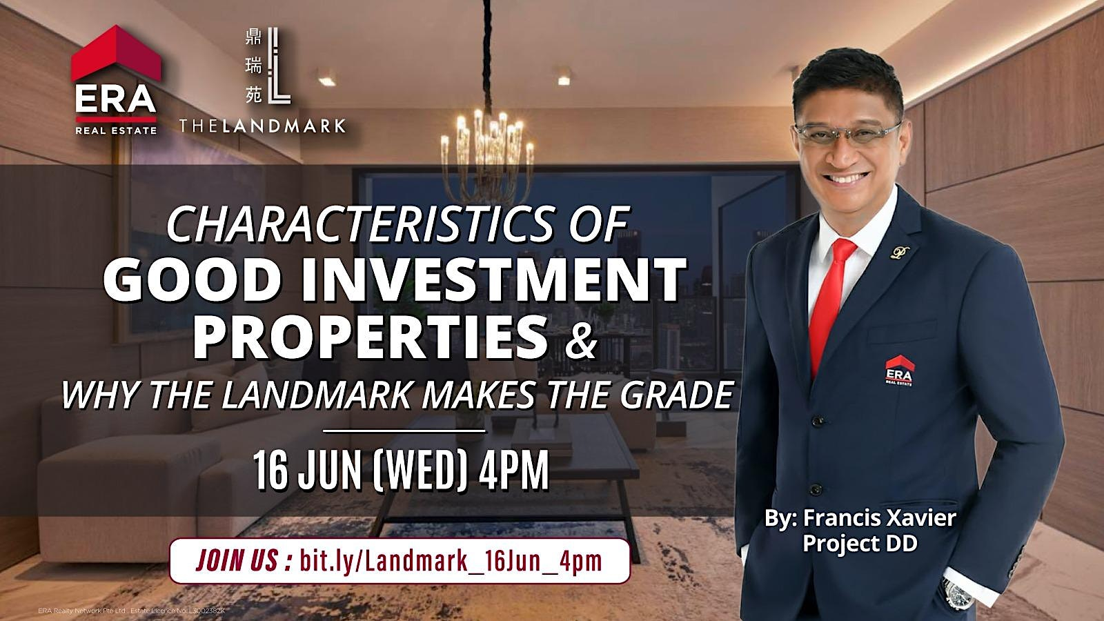 Characteristics of Good Investment Properties & Why The Landmark Makes the