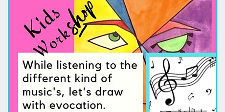 Let's draw by listening to the music tickets