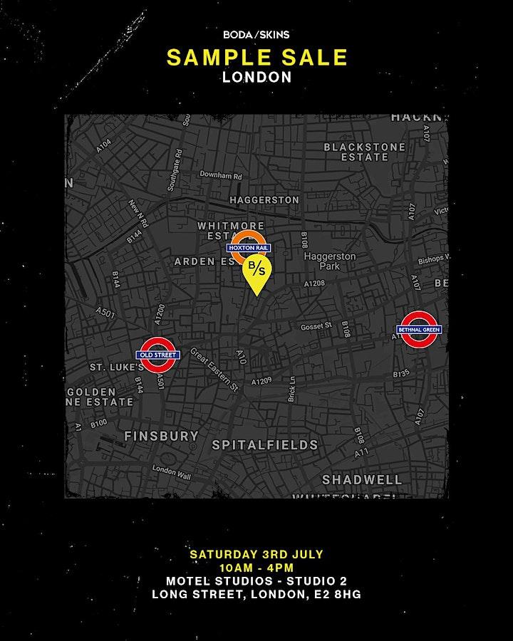 BODA SKINS London Sample Sale image