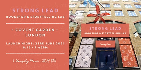 Strong Lead | Bookshop Launch tickets