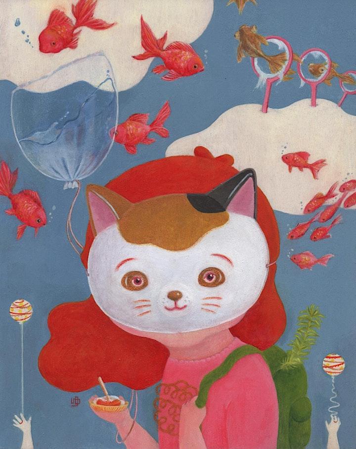 Popoco Little Memos by Yuiko Uto - Opening Night image