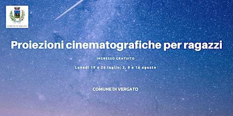 Vergato  - Rassegna cinematografica per ragazze/i biglietti