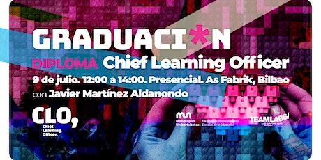 Graduacion Diploma Chief Learning Officer, con Javier Martínez Aldanondo entradas