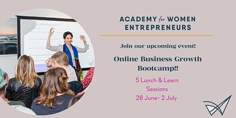 BOOST YOUR BUSINESS GROWTH BOOTCAMP tickets