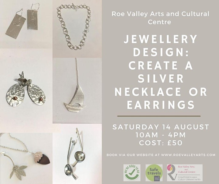 Jewellery Design: Create a Silver Necklace or Earrings image