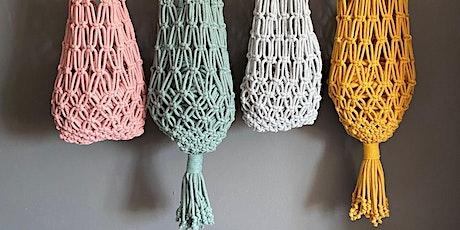 Macramé  Market Bag Workshop - Hove tickets
