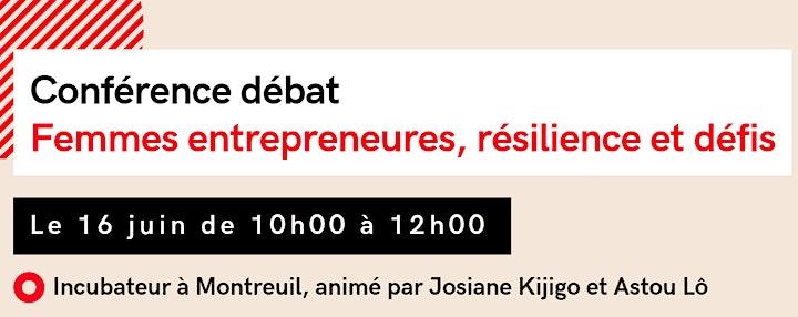 Image pour Conférence  - Débat : Femmes entrepreneures, résilience et défis