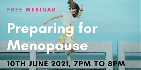 Copy of Preparing for Menopause tickets