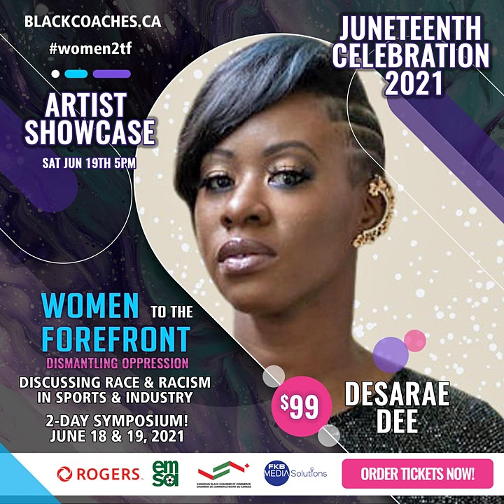 Women To The ForeFront - Artist Showcase image