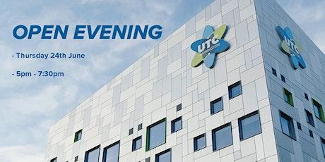 UTC Warrington Open Event tickets