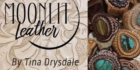 Leather and Gemstone Pendant Workshop tickets