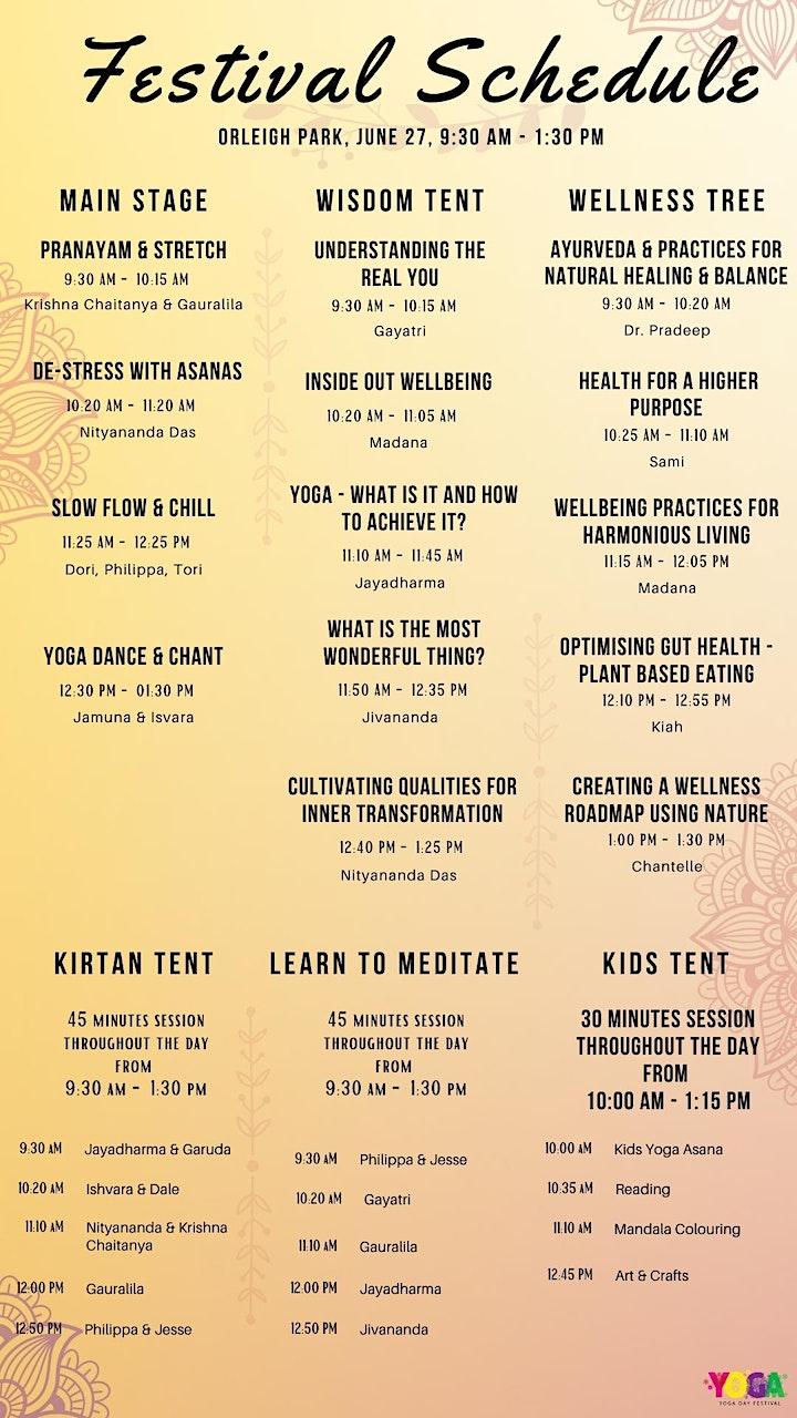 Yoga Day Festival Brisbane 2021 image