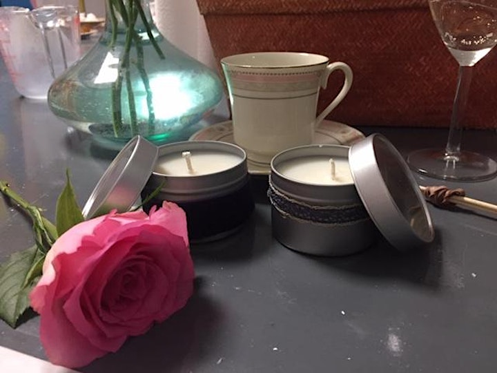 Candle Making with Afternoon Tea treats - Temple Bar image
