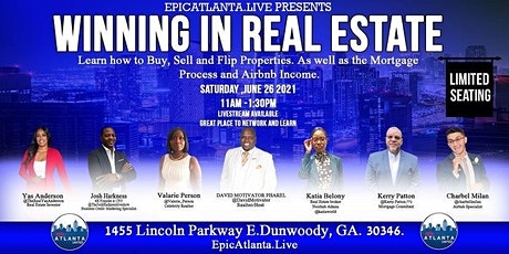 EpicAtlanta Presents Winning In Real Estate Seminar and Networking Event tickets