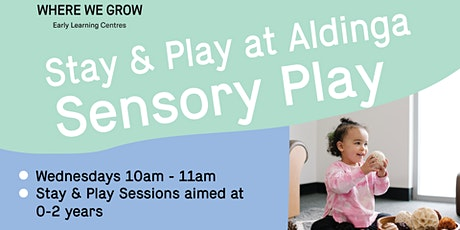 Stay & Play at Aldinga | Sensory Play Sessions tickets