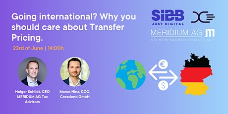 Going international? Why you should care about Transfer Pricing. tickets