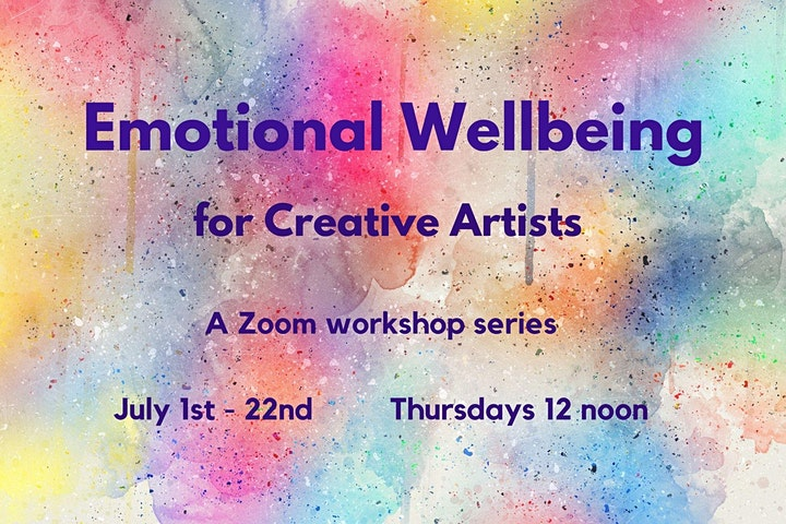 Emotional Wellbeing For Creative Artists image