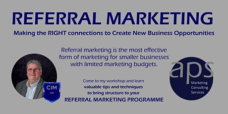 Referral Marketing - Making the Right Connections to create new Business tickets
