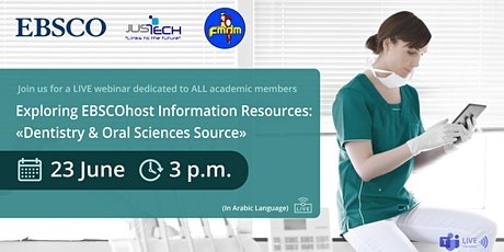 Exploring EBSCOhost Information Resources tickets