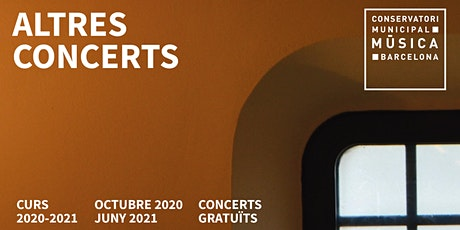 Concert a càrrec de Gabi Mateu, trombó i Jordi Farran, piano entradas