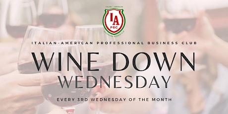 IAPBC Wine Down Wednesday tickets