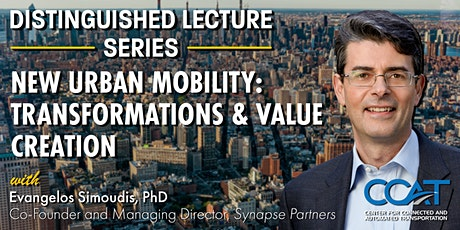 New Urban Mobility: Transformations and & Value Creation tickets