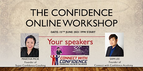 The Next Level Confidence Online Workshop (Feat. Sam Lee and Martha Mok) tickets