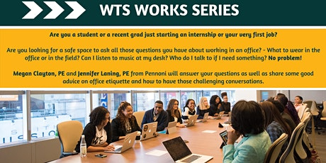 WTS Works Series: Office Etiquette & How to Have Difficult Conversations tickets
