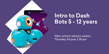 Intro to Dash Bots (5 - 12 yrs) @ Huonville Library tickets