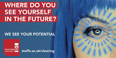 Staffs Clearing 2021 Webinar Series -Supporting Someone Starting University tickets