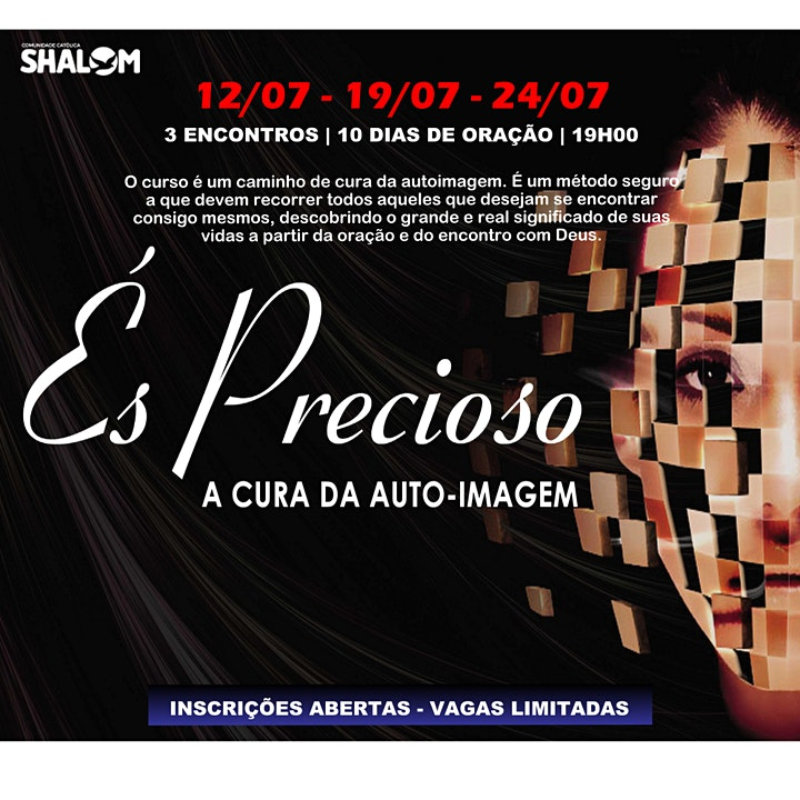 Imagem do evento ÉS PRECIOSO - Um Caminho de Cura da Autoimagem