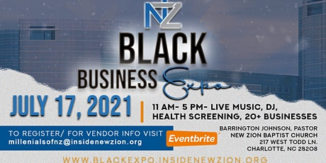 New Zion Presents - Black Business Expo tickets