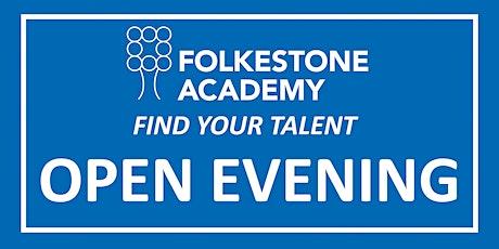 Folkestone Academy Open Evening 2021 -  Thursday 30th September 5-8pm tickets