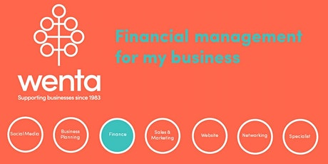 Financial management for my business - Watford tickets