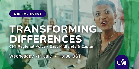 Transforming Differences tickets