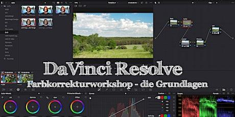 Einführung Farbkorrektur mit DaVinci Resolve - Videoworkshop 4/5 Tickets
