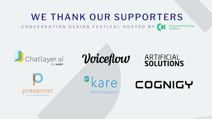 Conversation Design Festival image