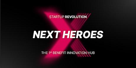 INAUGURAZIONE NEXT HEROES - BENEFIT INNOVATION HUB tickets