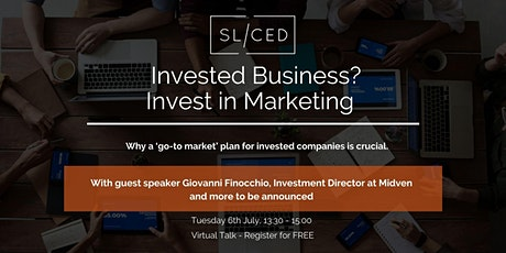 SL/CED: Invested Business? Invest in Marketing tickets