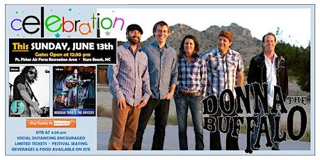 DONNA THE BUFFALO & FRIENDS Celebration in Kure Beach, NC tickets