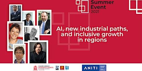 Artificial Intelligence, new industrial paths & inclusive growth in regions biglietti